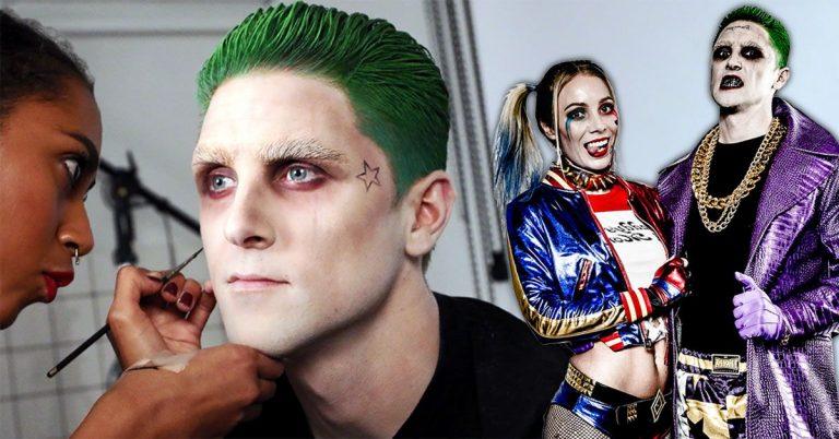 The Joker makeup tutorial