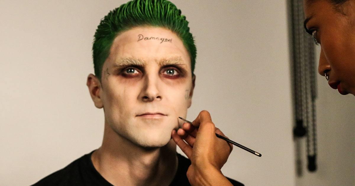 Starting to look like Jared Leto's Joker