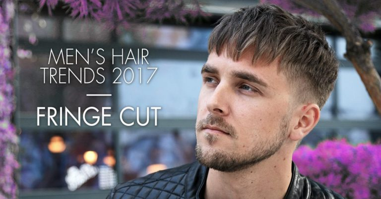 Fringe haircut for men