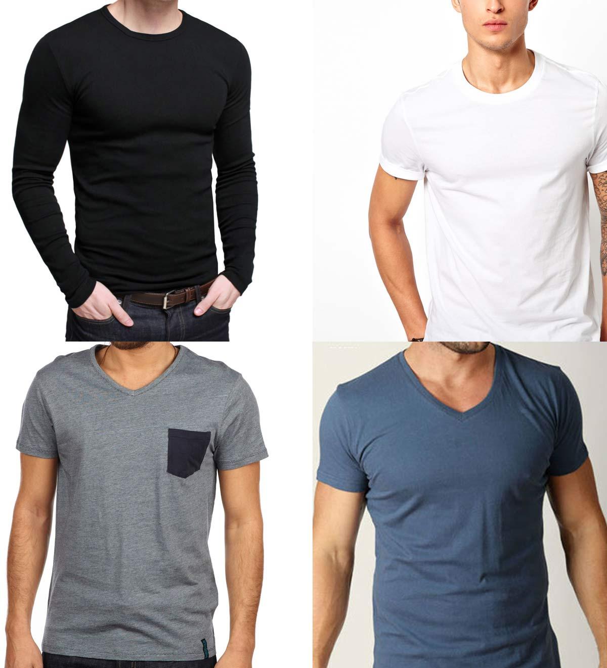 Mens basic shirts