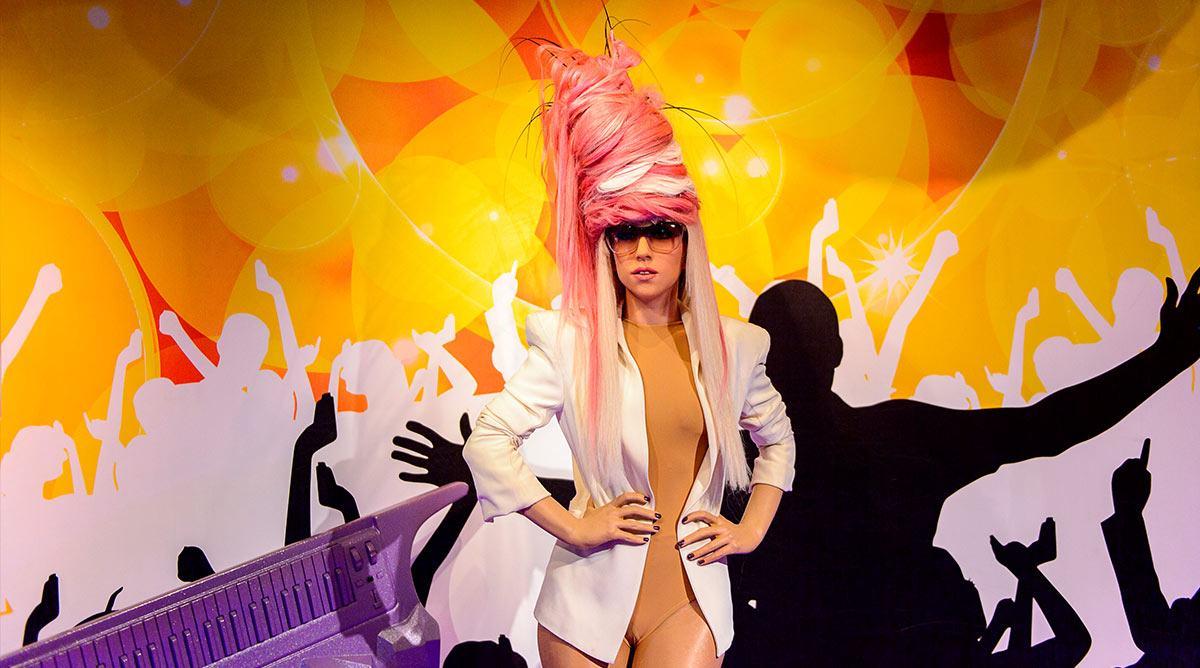 Lady Gaga on stage