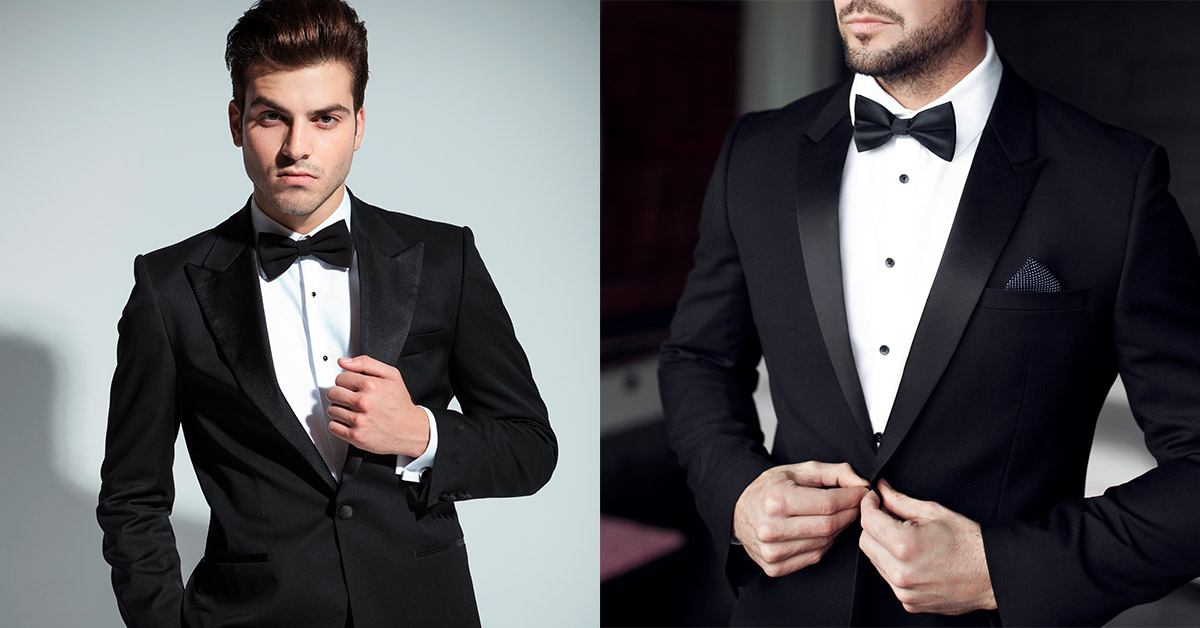 Black tie dress code