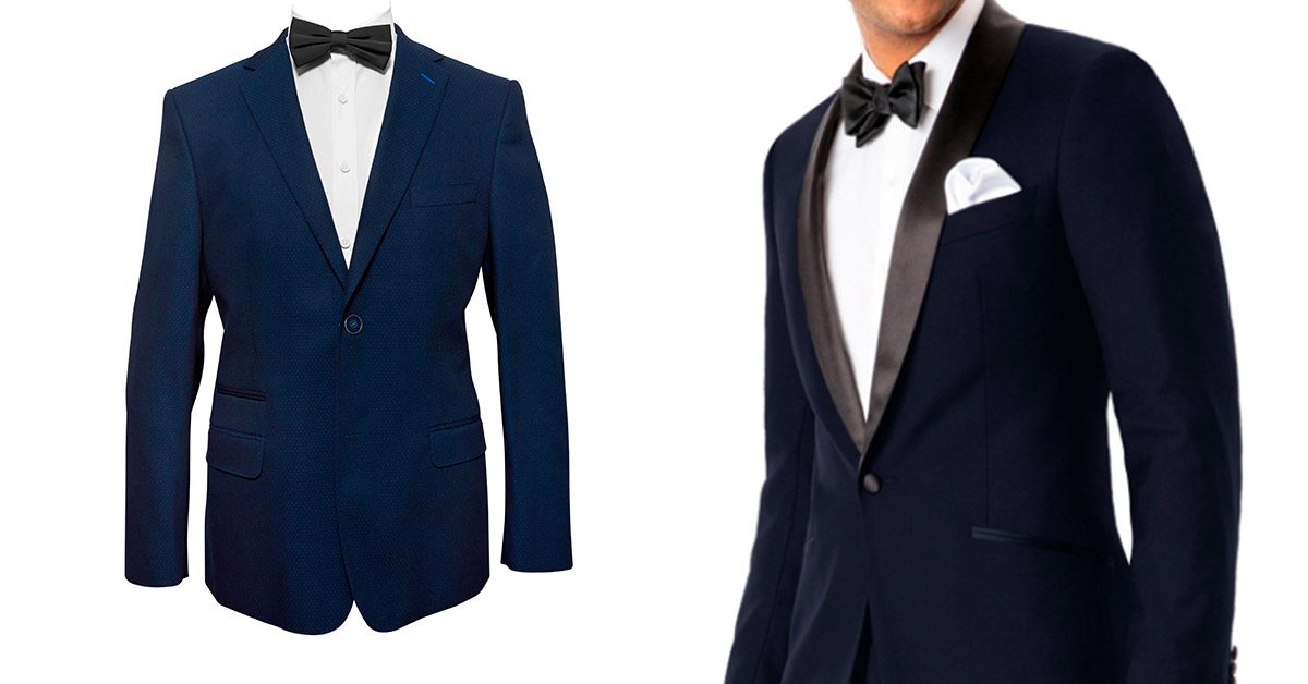 Midnight blue tuxedo