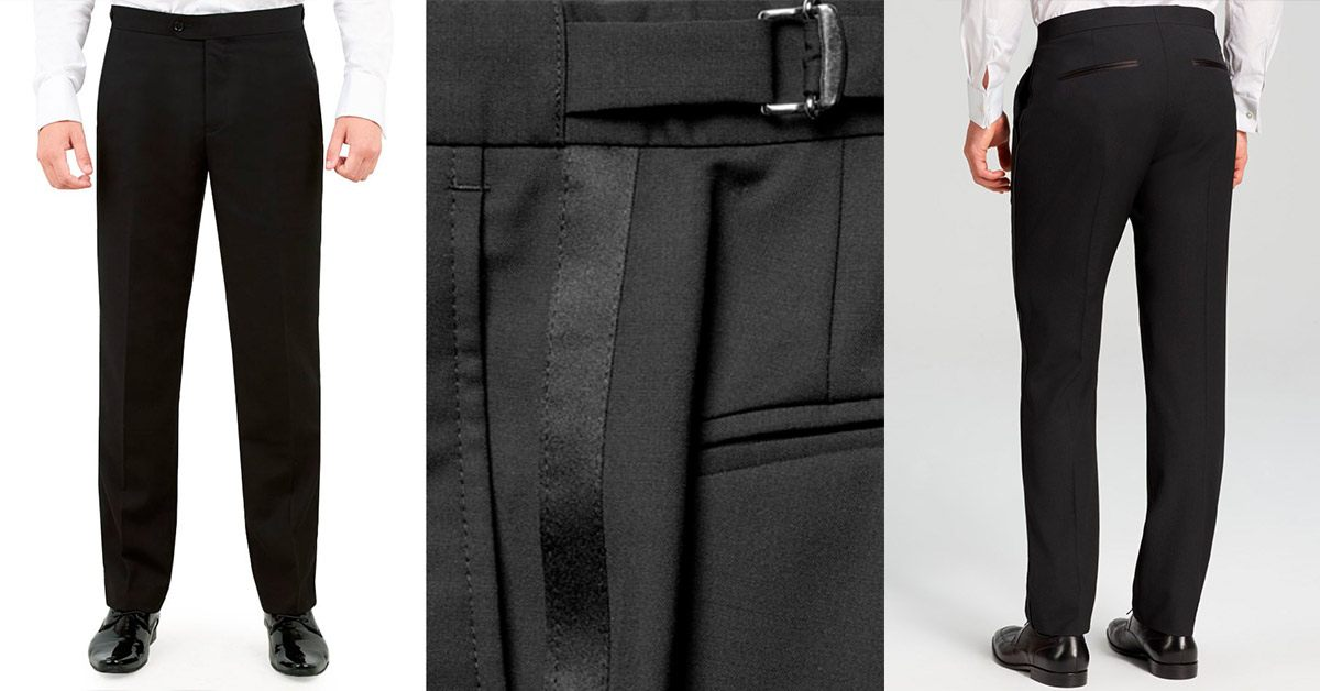 Perfect fitted tux trousers