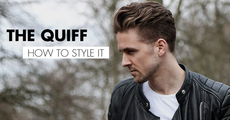 How to style the quiff