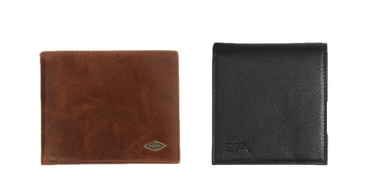 Fossil and Ralph Lauren wallet