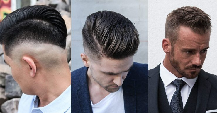 Men's hairstyles for autumn and winter