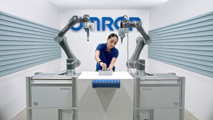 Collaborative robots from Omron