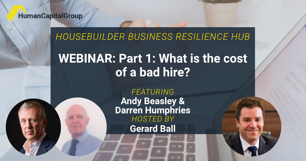 WEBINAR: Part 1: What is the cost of a bad hire?