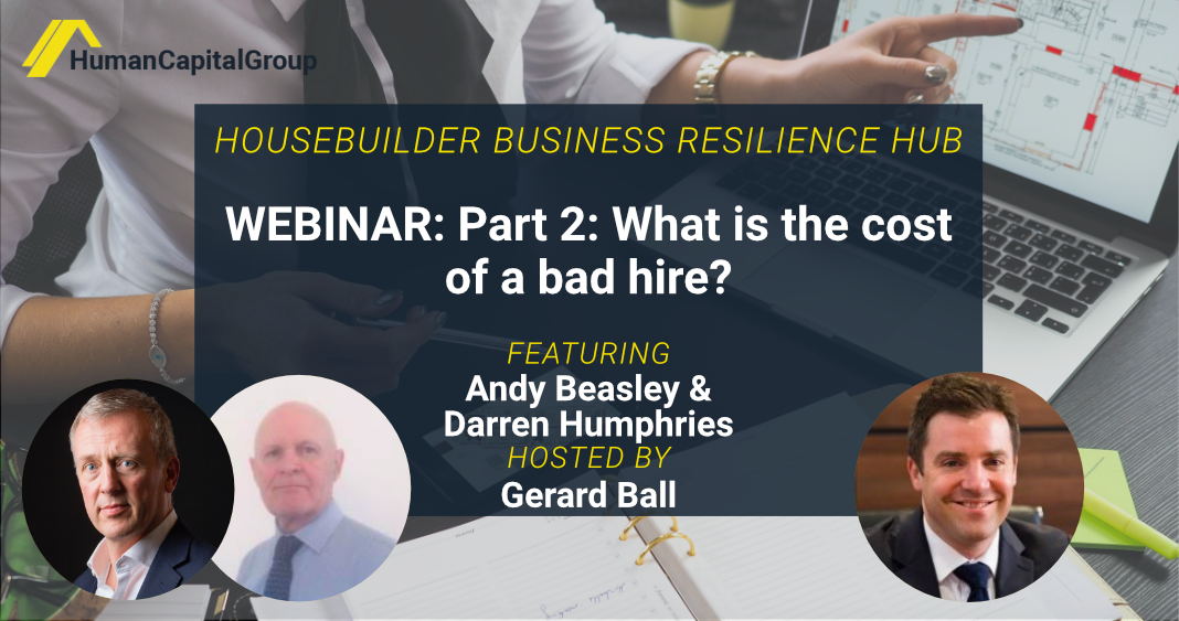 WEBINAR: Part 2: What is the cost of a bad hire?