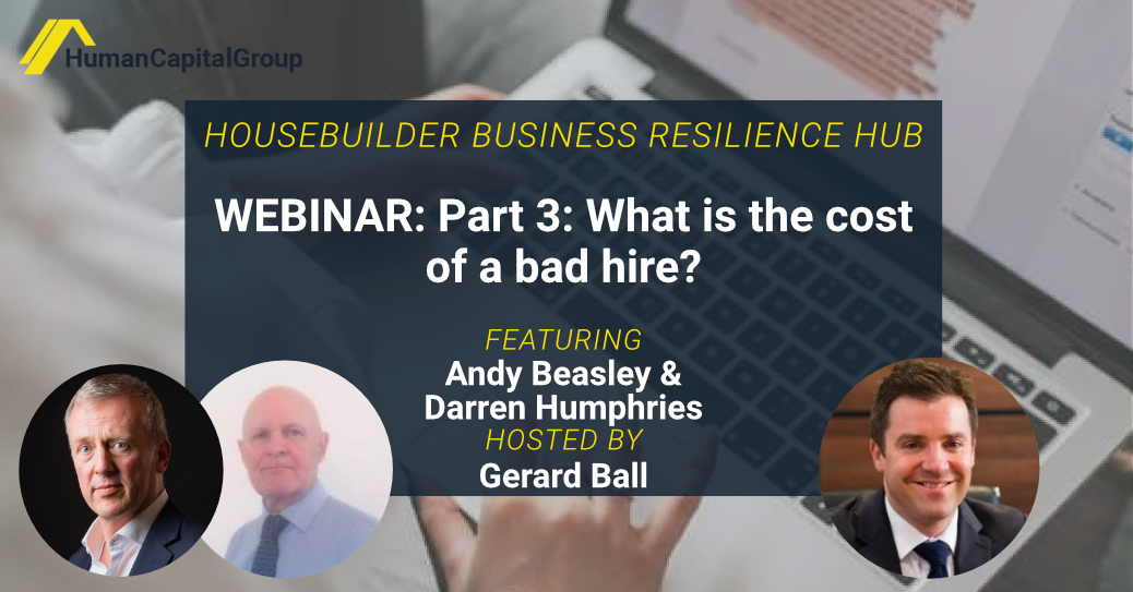 WEBINAR: Part 3: What is the cost of a bad hire?