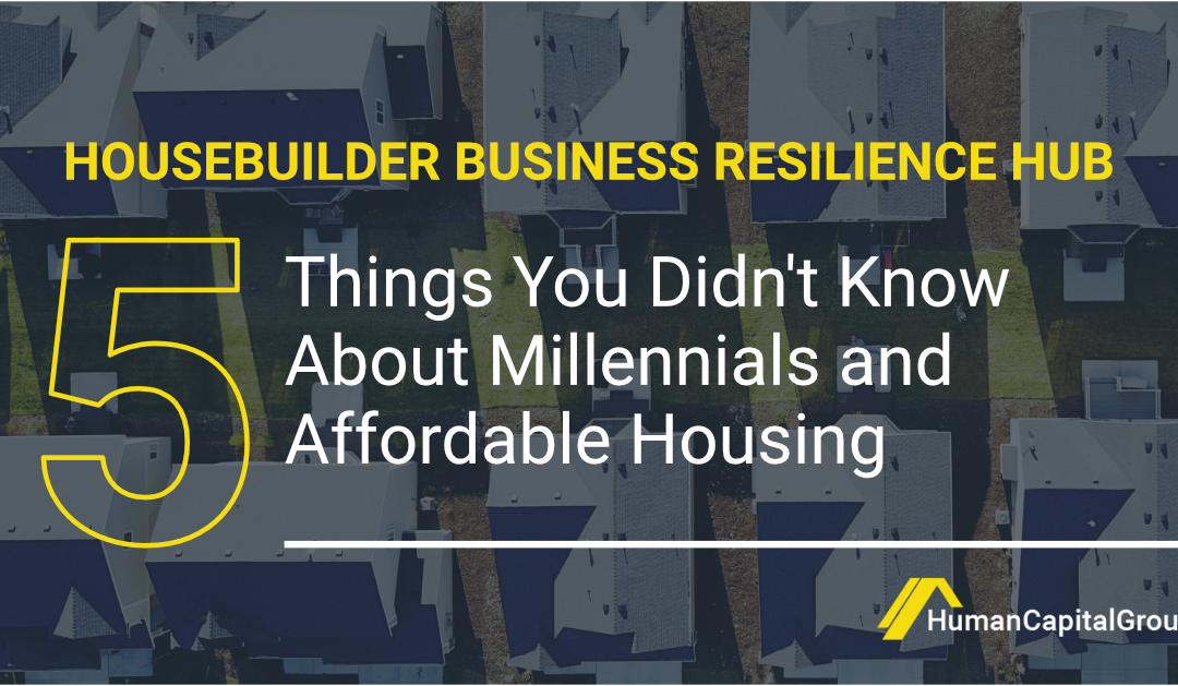 Five things you didn't know about millennials and affordable housing