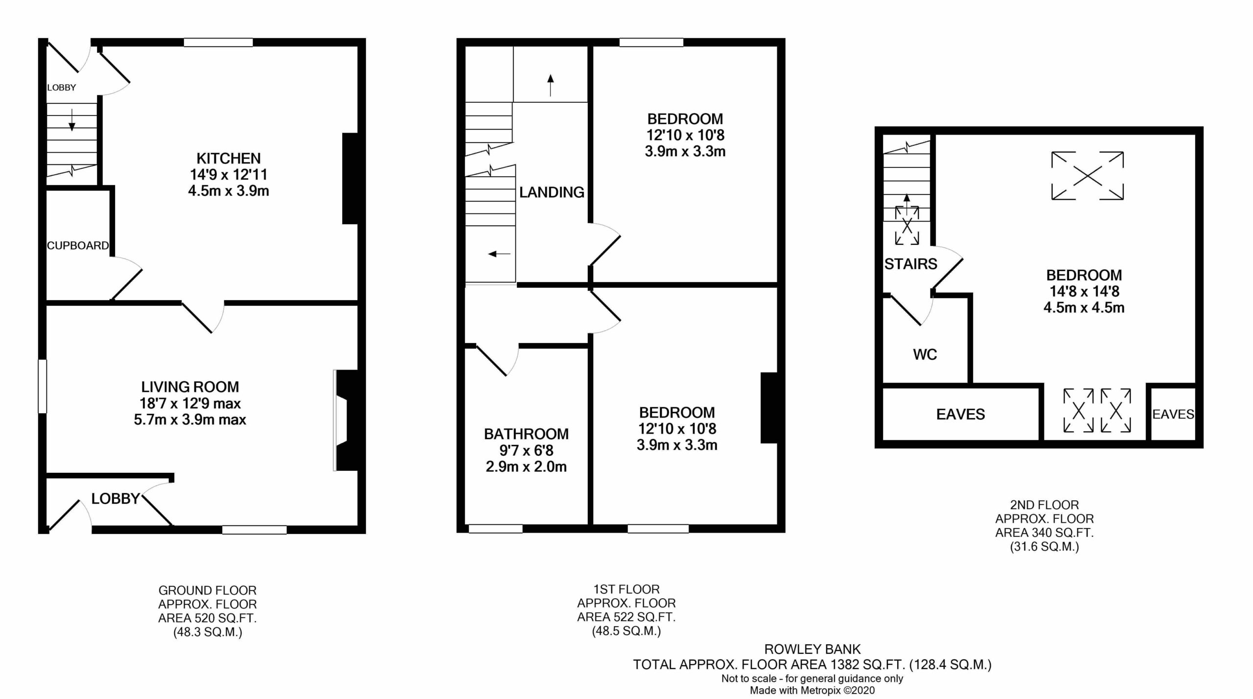 6 Rowley Bank – Floor Plan