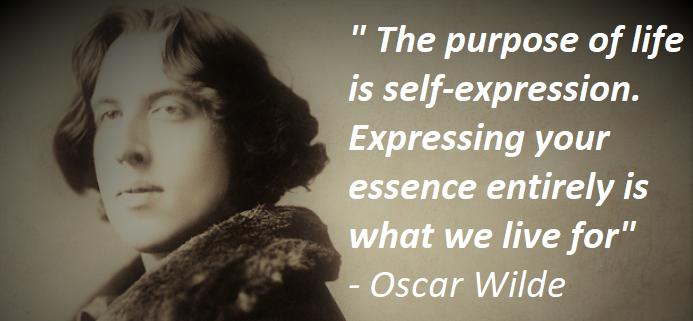 Oscar Wilde On Self-Expression