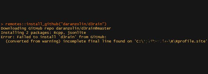 Rprofile.site incomplete final line error