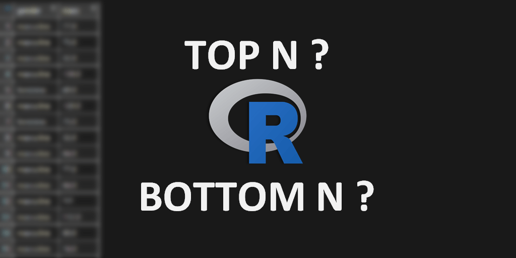 How to get top or bottom values by each group in R