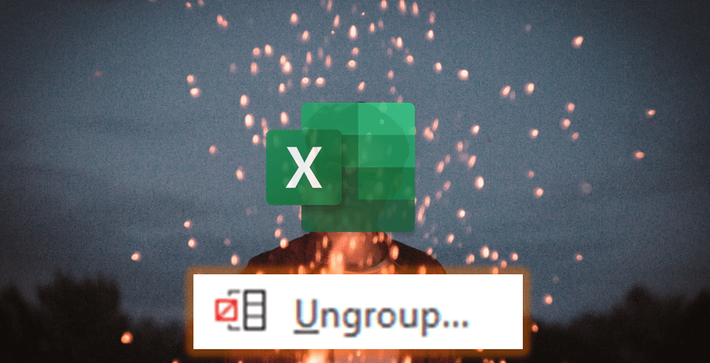Grouped and ungrouped PivotTable column problem in Excel file