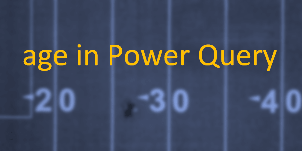Correct age calculation in Power Query