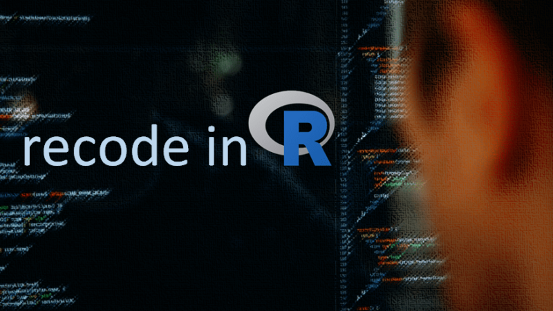 Recode data in R