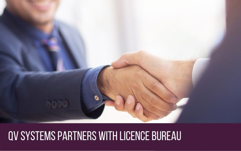 QV Systems Partners With Licence Bureau