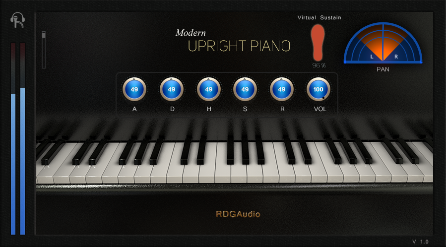 Modern Upright Piano RDGAudio