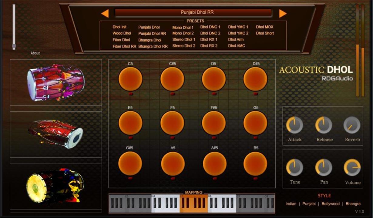 Acoustic Dhol RDGAudio HD