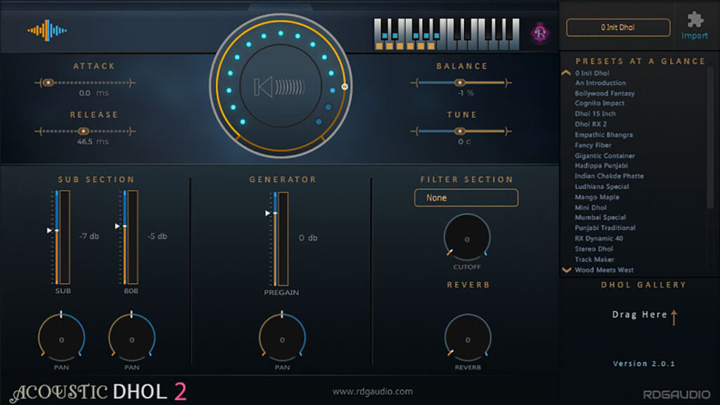 Acoustic Dhol 2 FirstLook 720p