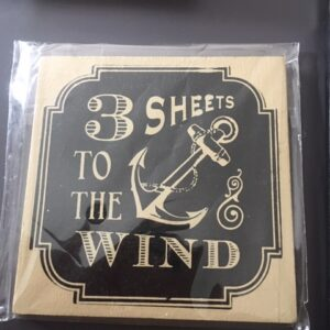 3 sheets to the wind coaster