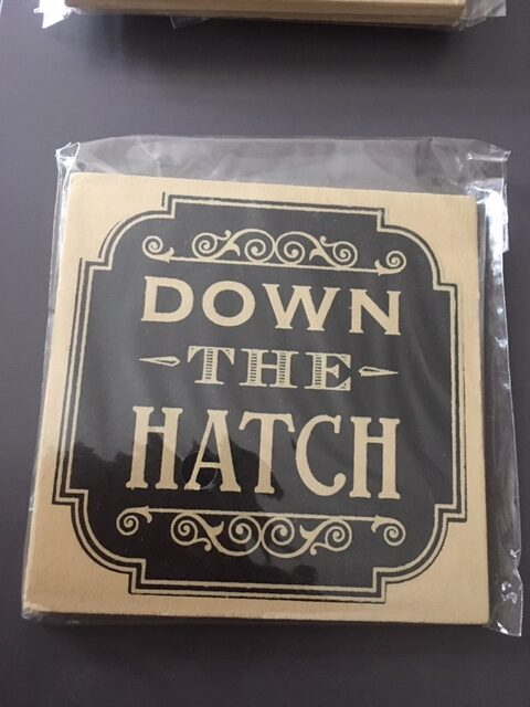 Down the Hatch coaster