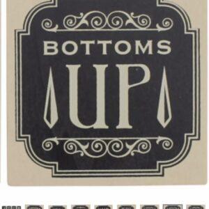 Bottoms Up coaster