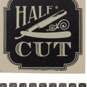 Half cut coaster