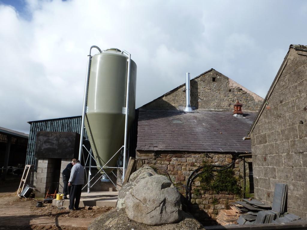 Shaw Renewables Biomass Biogas renewable energy fuel silo