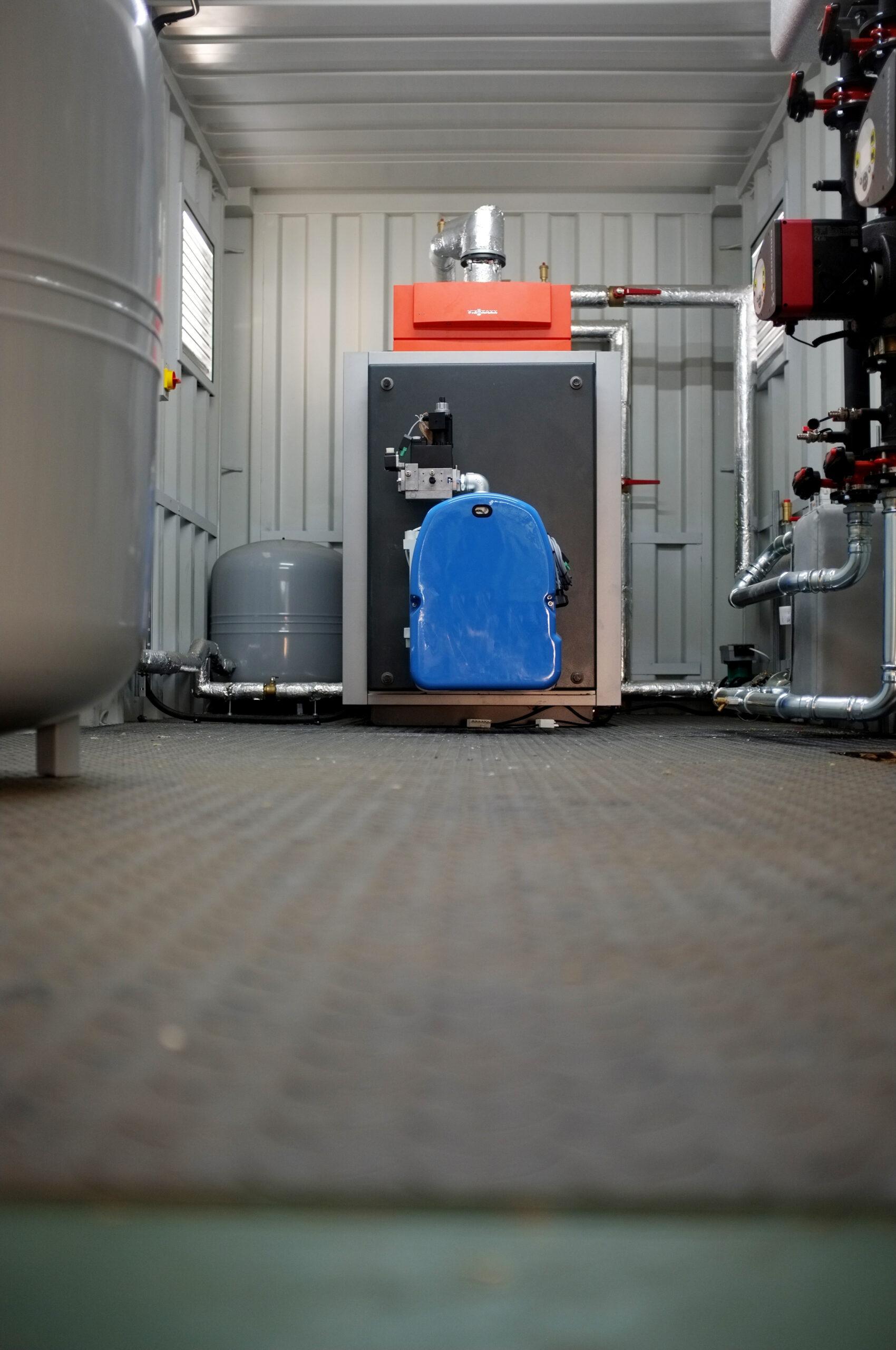 199kW biogas boiler Shaw Renewables Biomass Biogas renewable energy
