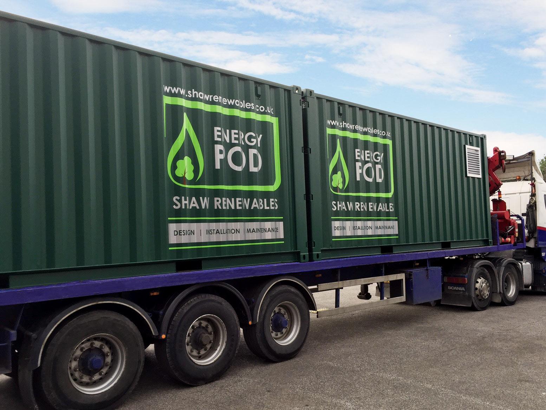 Shaw Renewables Energy Pod Biogas Boiler 0001