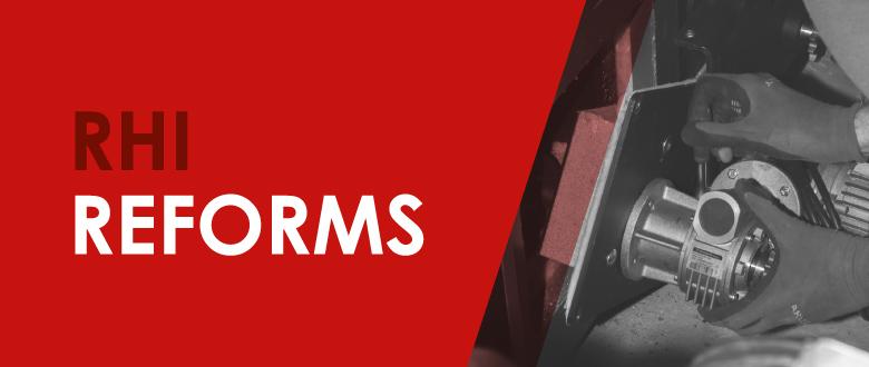RHI reforms
