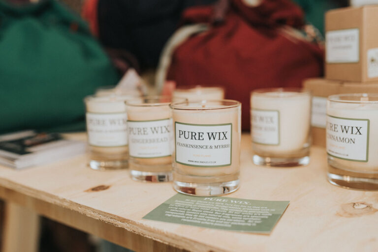 Pure Wix Candles