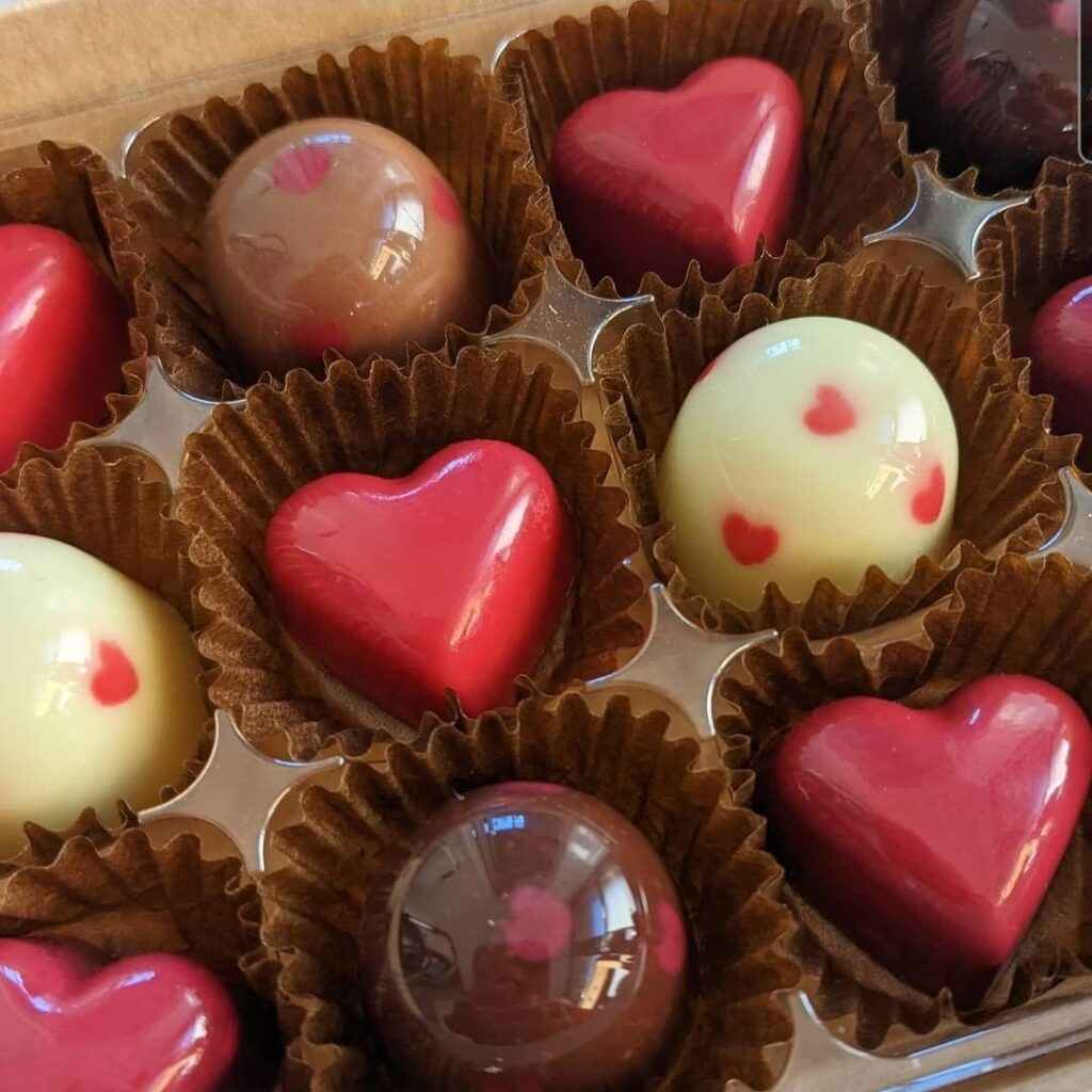 Delicious Looking Valentines Chocolates