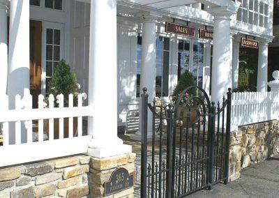 Inn Front Gate & Porch