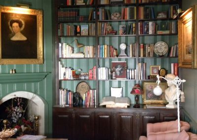 Living Room - Library