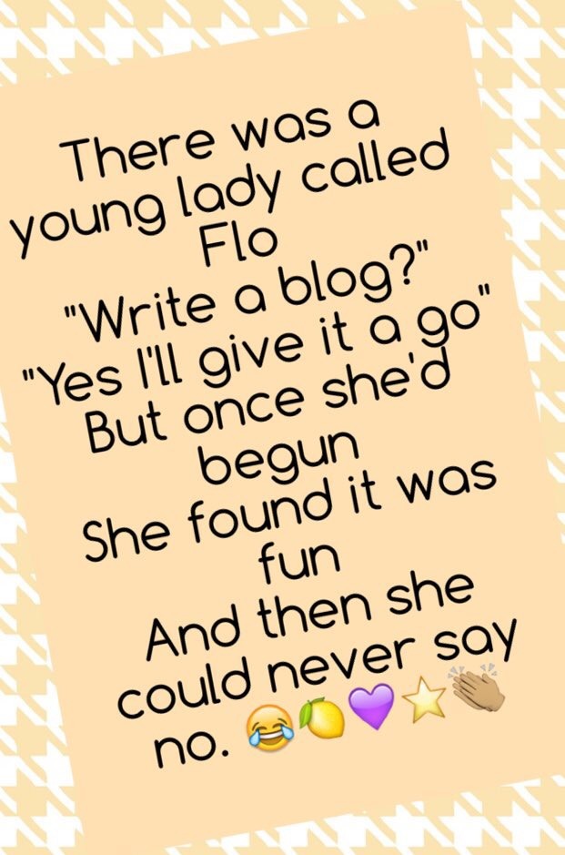 Flo – one blog Flo poem – Copy – Copy