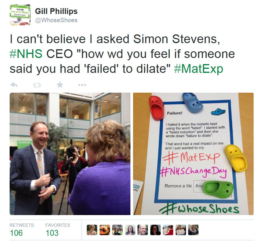 Gill and Simon Stevens and card – Copy