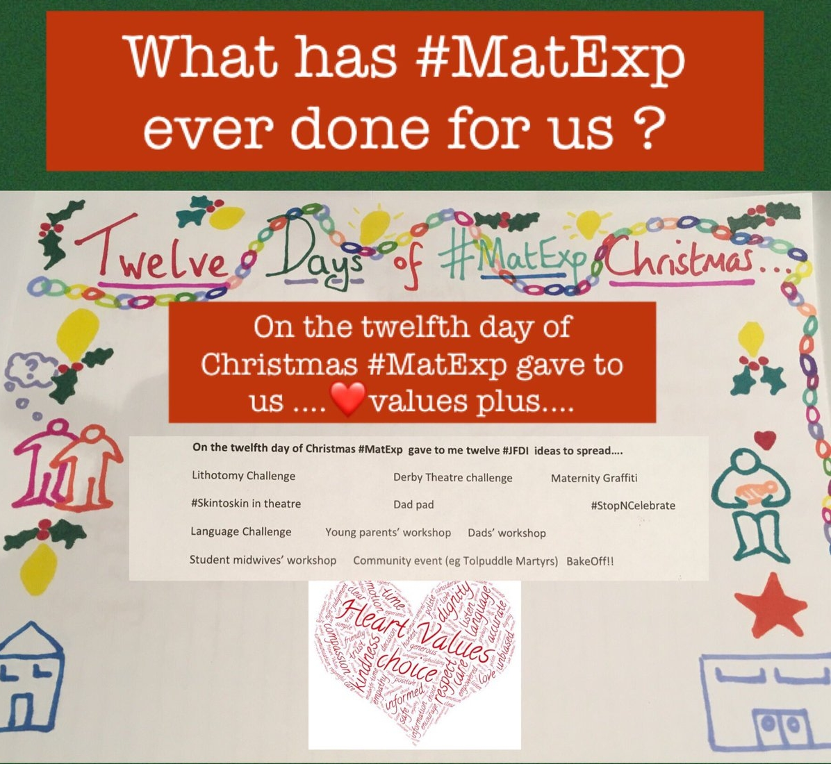 MatExp 12 days of Christmas Day 12
