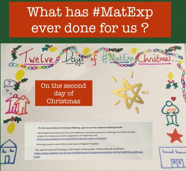 MatExp 12 days of Christmas Day 2
