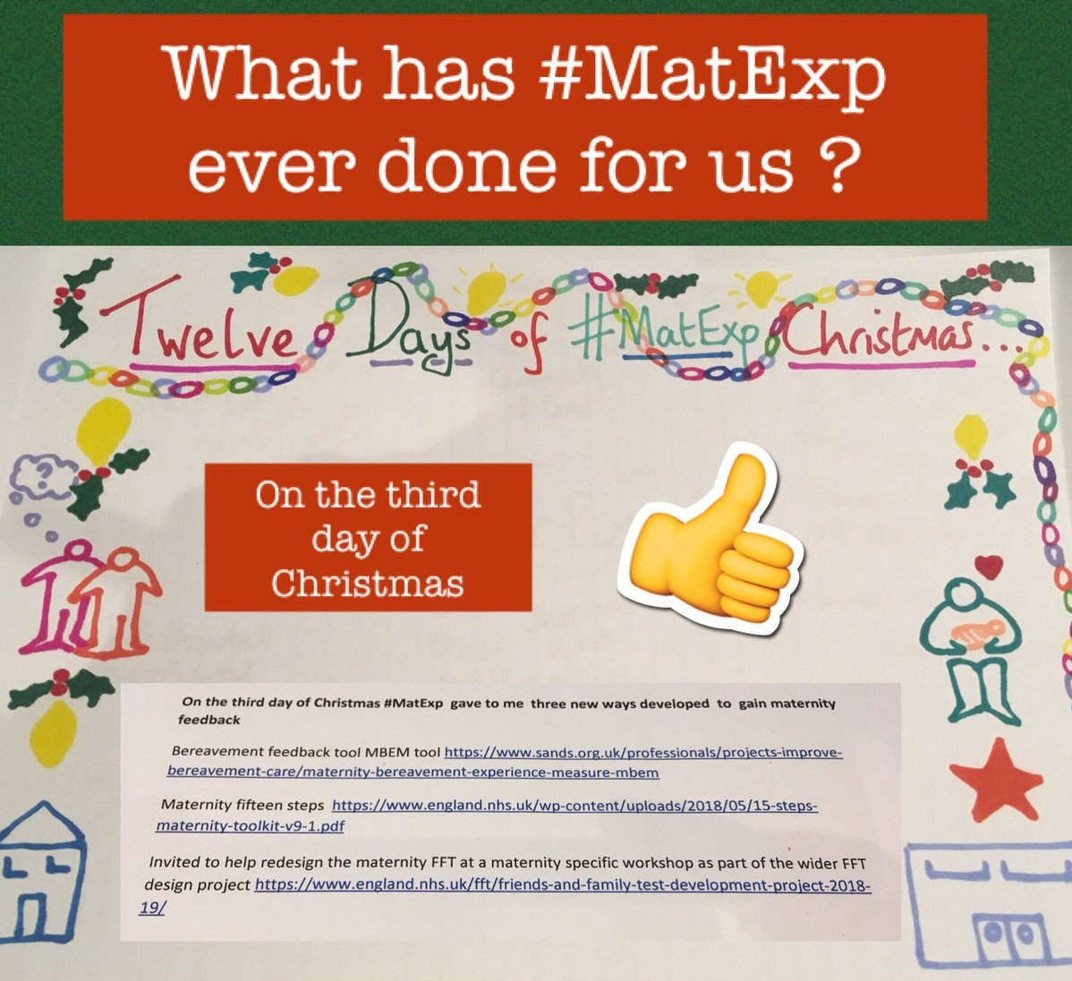 MatExp 12 days of Christmas Day 3