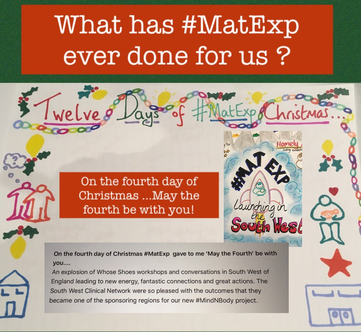 MatExp 12 days of Christmas Day 4