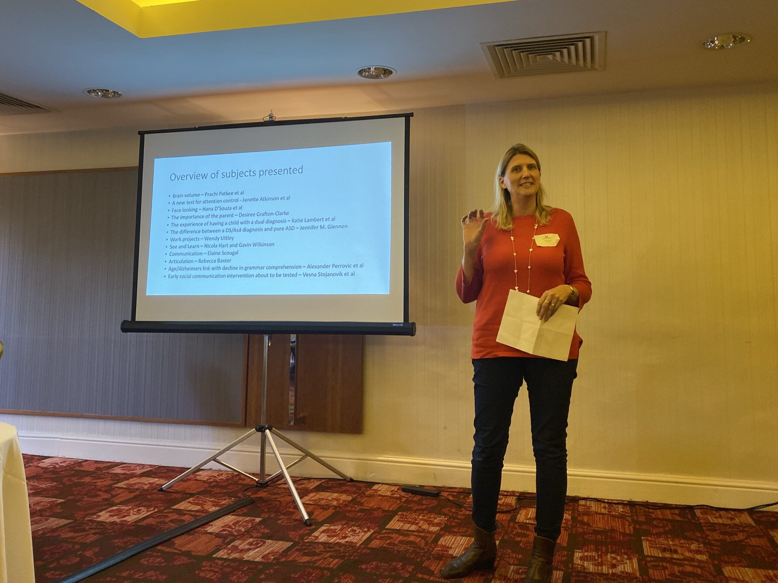 DS – Nicola's conference 2