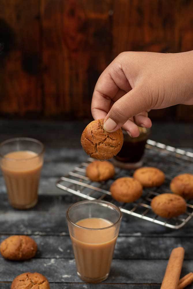 Ginger Jaggery Cookies