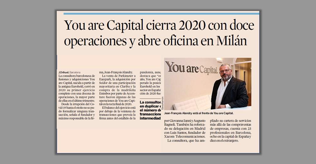 Expansión YC cierra 12 operaciones en 2020