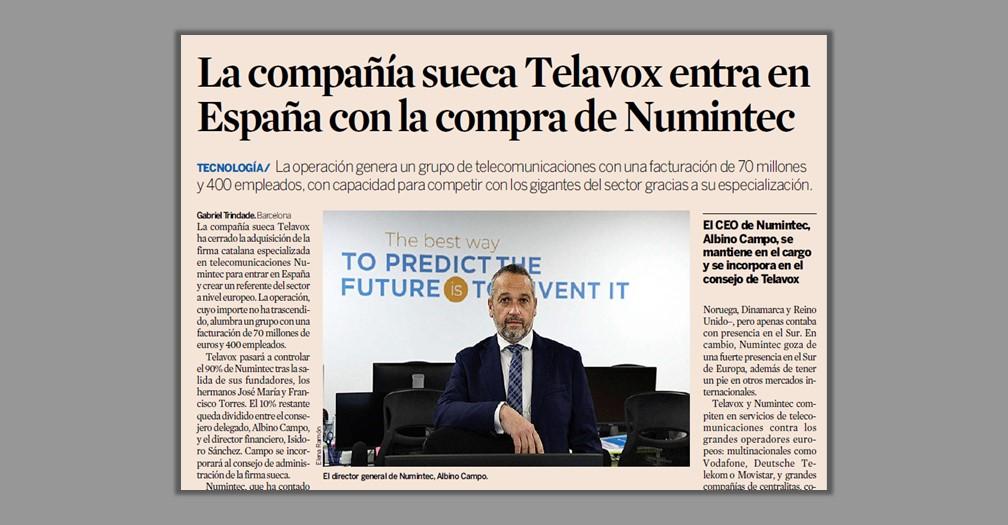 Telavox – Numintec