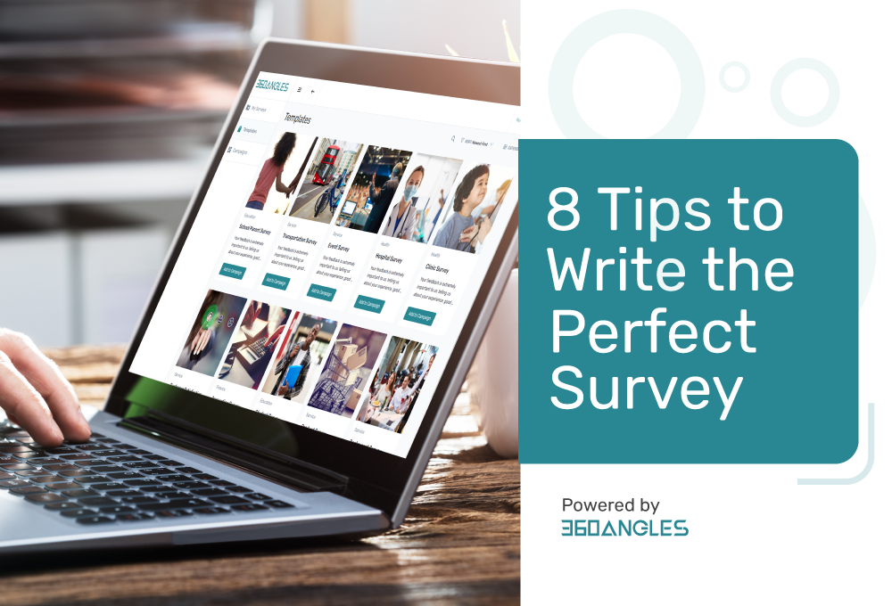 8 tips to write the perfect survey